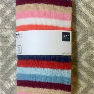 Baby Gap Crazy Stripe Tights 😜